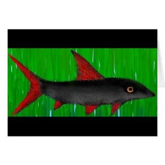 Rainbow Shark Thanks! Card