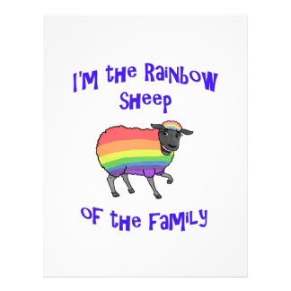 Rainbow Sheep of the Family Letterhead