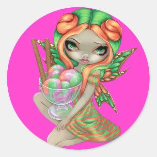 """Rainbow Sherbet Fairy"" Sticker"