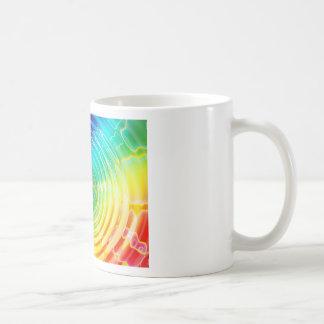 Rainbow Shockwave Coffee Mug