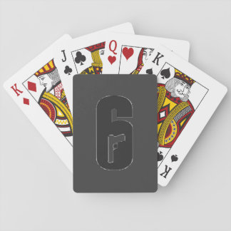 Rainbow Six Siege deck of cards