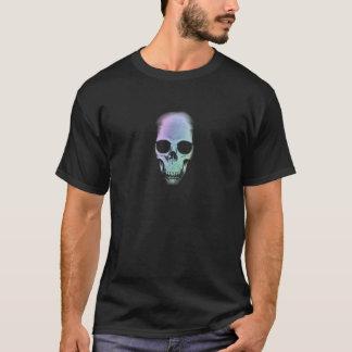 Rainbow Skull - Custom Background T-Shirt