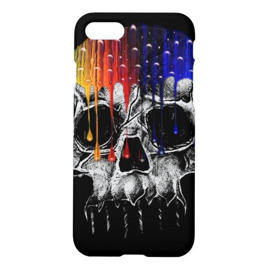Rainbow Skull iPhone 7 Case