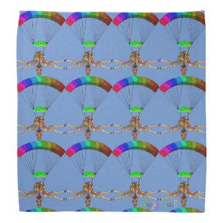 Rainbow Skydiving by The Happy Juul Company Bandana