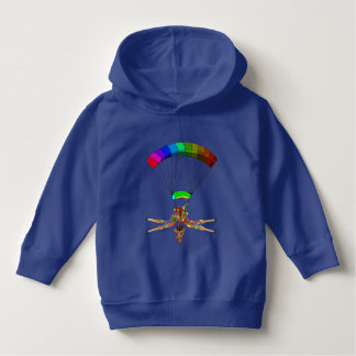 Rainbow Skydiving by The Happy Juul Company Hoodie