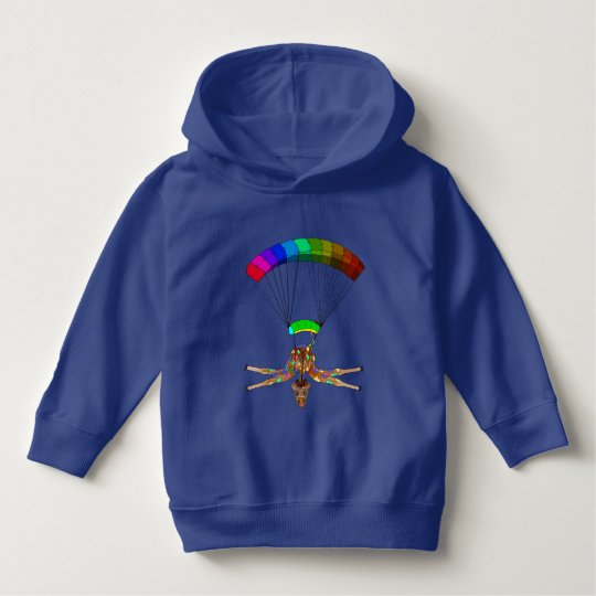 Rainbow Skydiving by The Happy Juul Company Hoodie