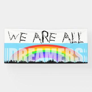 Rainbow Skyline Daca Dreamers 2 Banner