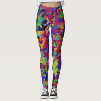 Rainbow Smash Leggings