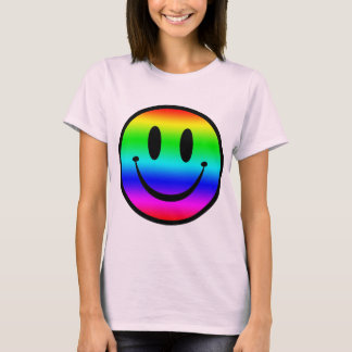 Rainbow Smiley V1 T-Shirt