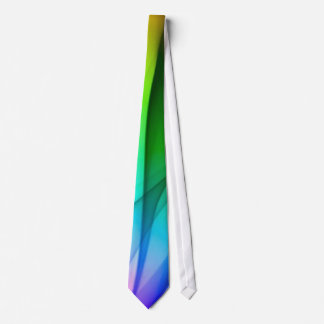 Rainbow Smoke Neck Tie