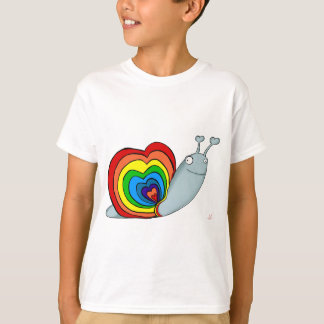 Rainbow Snail T-Shirt