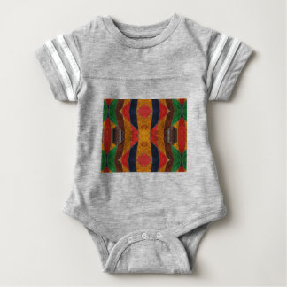 Rainbow Snake leather pattern Baby Bodysuit