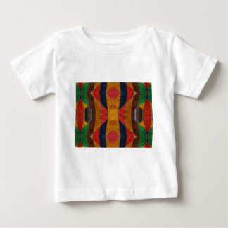 Rainbow Snake leather pattern Baby T-Shirt