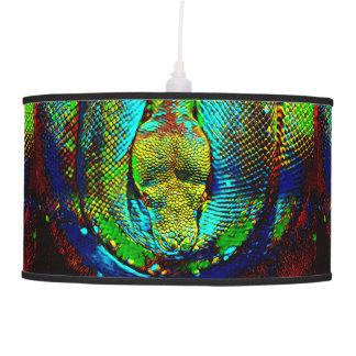 Rainbow Snake Pendant Lamp