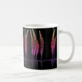 Rainbow Snapdragoon Flower Mug