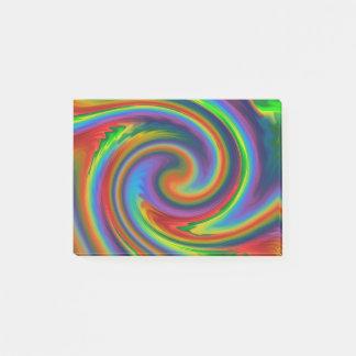 Rainbow Solar Glow Post-it Notes