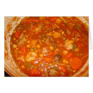 Rainbow Soup Card
