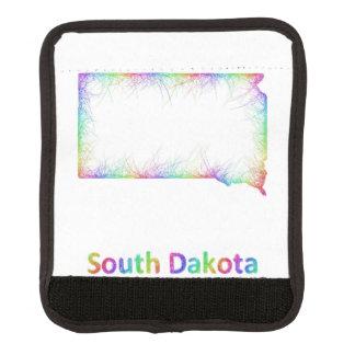 Rainbow South Dakota map Handle Wrap