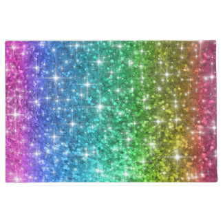 Rainbow Sparkle Door Mat