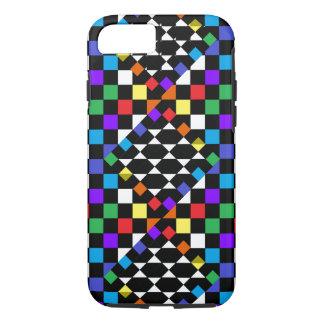 Rainbow Spectrum Checkerboard Trendy CricketDiane iPhone 7 Case