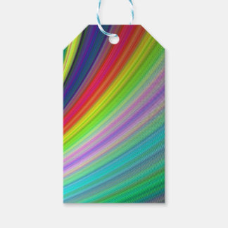 Rainbow speed pack of gift tags