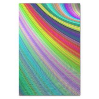 Rainbow speed tissue paper