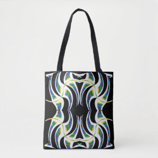 Rainbow Sphere Fashion Pattern Tote Bag-Anyone
