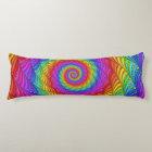 Rainbow Spiral Body Pillow