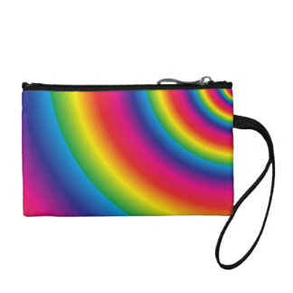 Rainbow Spiral Coin Purse
