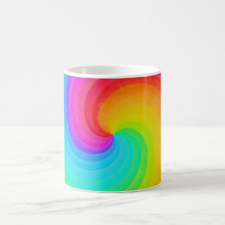 Rainbow Spiral of Hope Mug