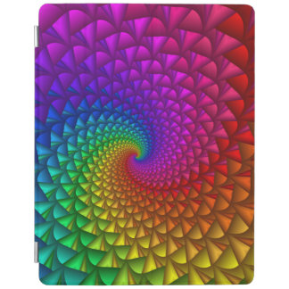 Rainbow Spiral Spikes iPad 2/3/4 Cover iPad Cover