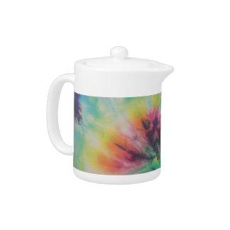 Rainbow Spiral Tie Dye fluorescent