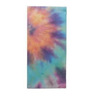 Rainbow Spiral Tie Dye I Napkin