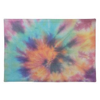 Rainbow Spiral Tie Dye I Placemat