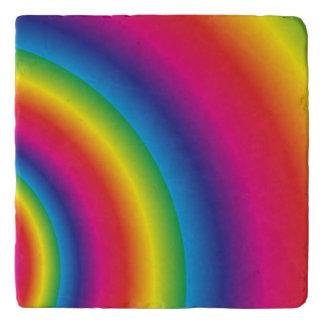 Rainbow Spiral Trivet