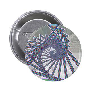 Rainbow Spiralism Button