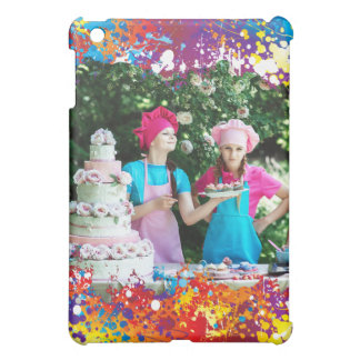 Rainbow Splash Abstract iPad Mini Covers