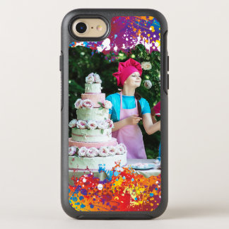 Rainbow Splash Abstract OtterBox Symmetry iPhone 7 Case