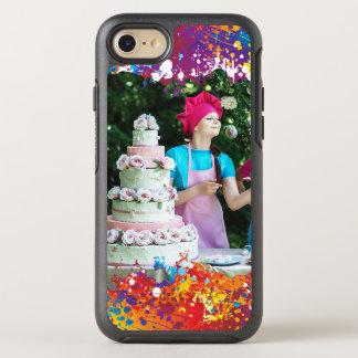 Rainbow Splash Abstract OtterBox Symmetry iPhone 8/7 Case