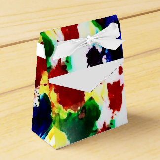 Rainbow Splash Motif by Delynn Addams Designs Favor Box