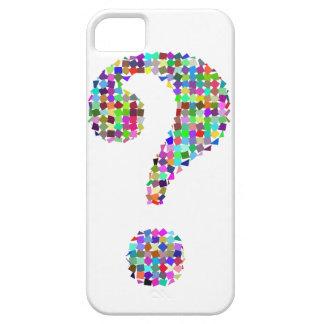 Rainbow Splatter Question Mark iPhone 5 Cover