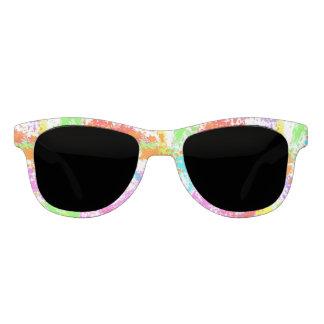 Rainbow Splattered Sunglasses