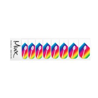 Rainbow Spoonie Nails Nail Sticker