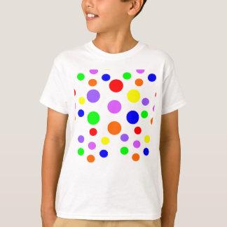 Rainbow Spots Kids T Shirt