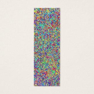 Rainbow Spray, Bookmark Mini Business Card