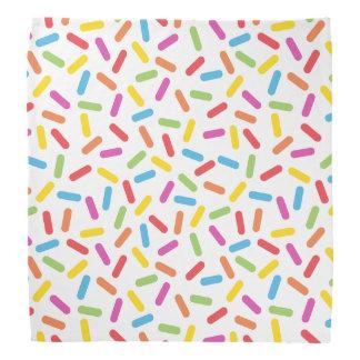 Rainbow Sprinkles Bandana