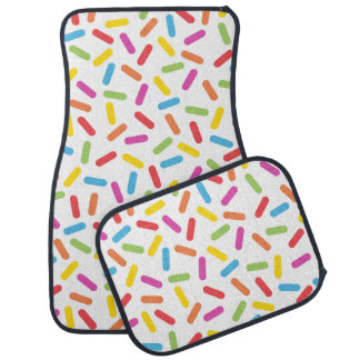 Rainbow Sprinkles Car Mat
