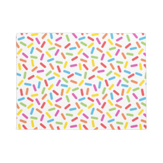 Rainbow Sprinkles Doormat