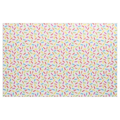 Rainbow Sprinkles Fabric