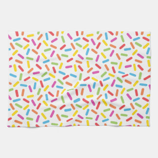 Rainbow Sprinkles Kitchen Towel